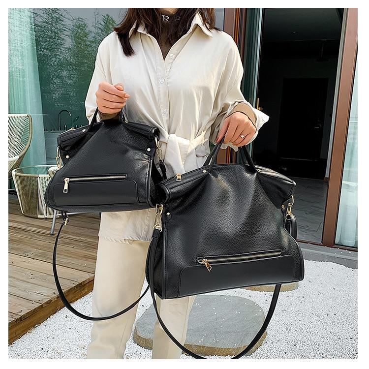 NEW Pu Leather Bag Large Women Leather Handbags Famous Brand Women Messenger Bags High Quality Big Ladies Shoulder Bag New