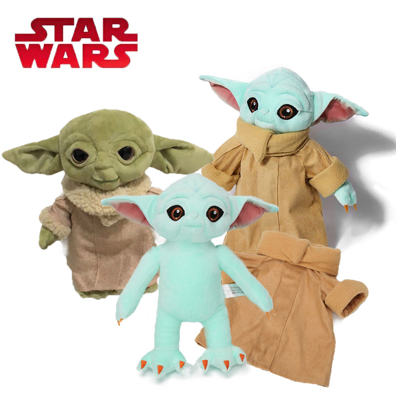 30CM Baby Yoda Plush Toy IN STOCK The Force Awakens BB8 Plush Keychain BB-8 Soft Stuffed Dolls Plush Pillow  Star Wars Toys