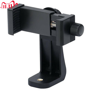 Image 1 - Hot 360 Degree Rotating Smartphone Mount Holder Adapter Cell Phone Clipper Holder Tripod Stand For iphone Samsung Xiaomi Phones