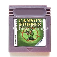 Cannon Fodder Video Game Memory Accessories Cartridge Card for 16 Bit Console