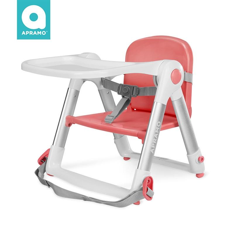 UK Apramo Antumi Children's Dining Chair Portable Folding Baby Dining Out Folding Dining Chair Flippa  Baby High Chair
