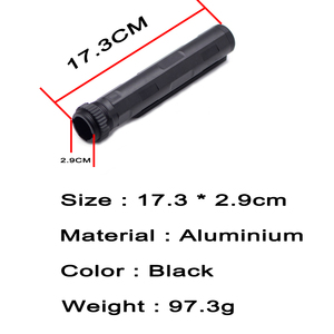 Image 5 - AR Enhanced Nut 6 Position Buffer Tube Kit Combo Stock Pipe for Airsoft Air Guns M4 M16 AR15 Series AEG Hunting Accessories