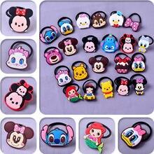 Disney 6 шт новая мультяшная веревка для волос Микки Маус Дональд