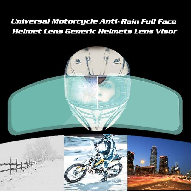 Universal Anti-Rain Full Face Helmet Lens 6