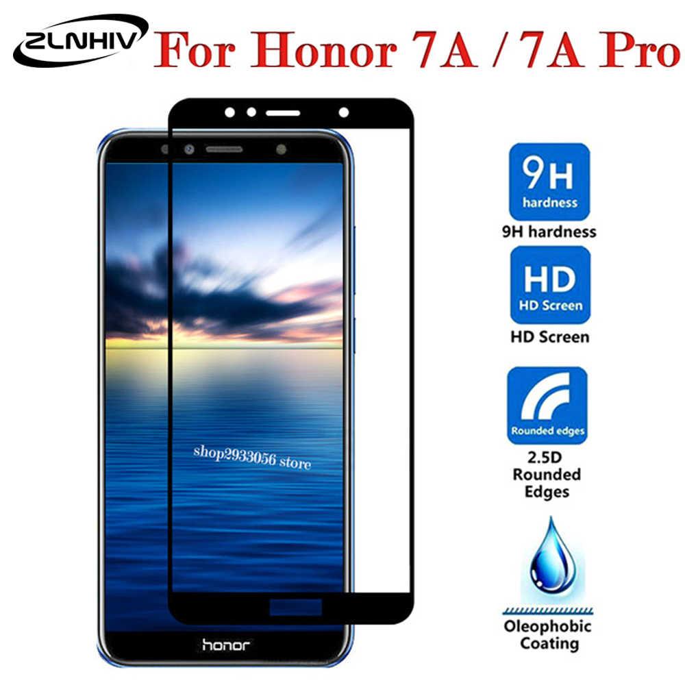 Szkło hartowane ZLNHIV do huawei honor 7 7x7 s 7c 7a pro folia ochronna na telefon honor 8 lite folia ochronna na szklany smartfon