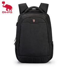 Oiwas Large Capacity 15.6 inch Daily Boys School Bagpack Multifunctional USB Charging Man's Laptop Backpack for Teenager Mochila