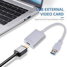 Scheda Video esterna adattatore Multi Monitor convertitore da USB a HDMI scheda grafica esterna USB 3.0 maschio a 1080p HDMI femmina