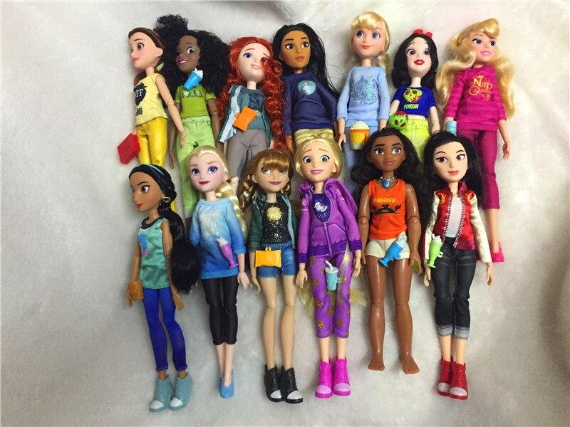 Rapunzel boneca neve branca ariel belle rapunzel brinquedos para meninas brinquedos bjd bonecas para crianças