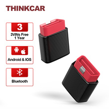 THINKCAR 2 Obd2 Car Auto Scanner Bluetooth iOS Android Full Systems ABS SAS Free 3 Car Vins 1 Year Diagnostic Tools