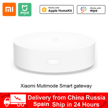 Xiaomi Smart Multifunctional Gateway 3 WiFi Remote Center Control RGB Light Home Security Device Support Aqara Apple Homekit APP