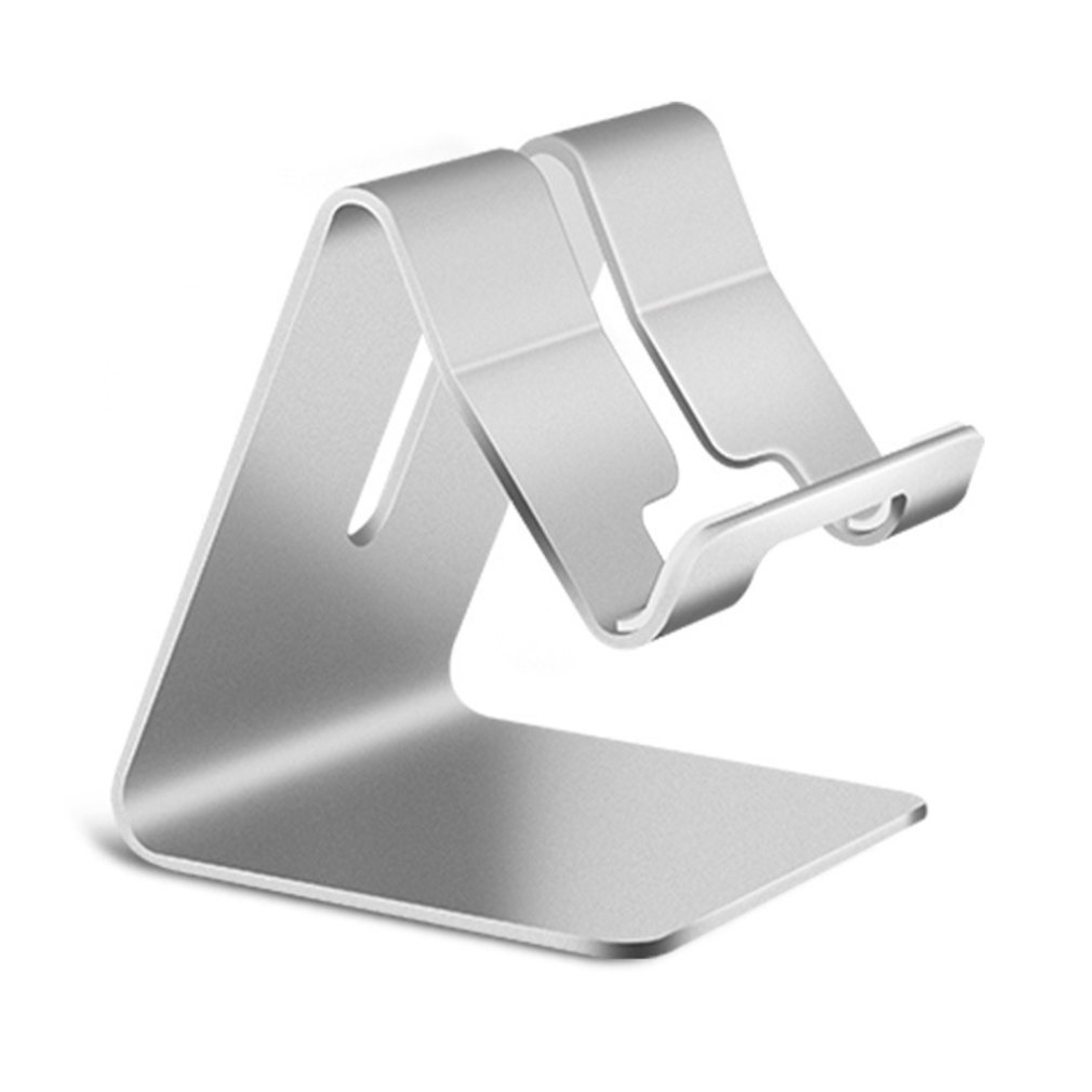 Universal Aluminium Alloy Smart Phone Stand Desk Holder Charge Stand Cradle Mount For IPhone Metal Tablets Stand For Ipad Tablet