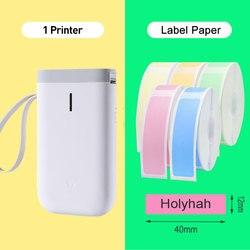 Impresora de etiquetas inalámbrica Niimbot D11, impresora portátil de etiquetas de bolsillo, impresora portátil de etiquetas térmicas Bluetooth, uso en el hogar, Impresión de oficina