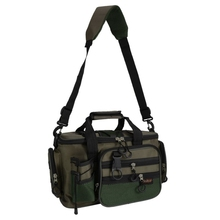 Outdoor Multifunction Canvas Fishing Bag Large Capacity Lure Fishing Tackle Pack