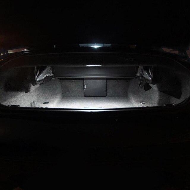 White Car Bulbs Canbus Error Free LED Interior Light Kit For 2011-2013 2014 2015 2016 2017 Chrysler 200 Map Dome License Lamp 4