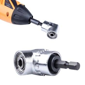 105 Angle Screwdriver Set Socket Holder Adapter Adjustable Bits Drill Bit Angle Screw Driver Tool 1/4'' Hex Bit Socket 2020 цена 2017