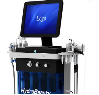 2019 Factory Price 9 In 1 Water Oxygen Hydra  Machine Hydra Derma Crystal Diamond Facial Machine With Ce