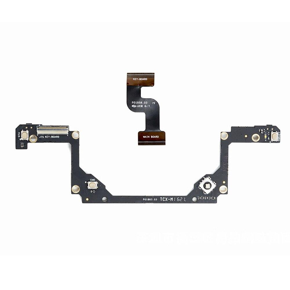 Motherboard Circuit Accessories Cable Wire Plastic Durable Black Drone Button Board Flexible Remote Control For DJI MAVIC PRO