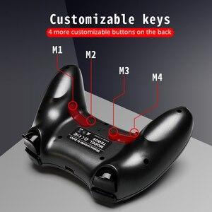 Image 4 - Contrôleur de jeu de grenouille de données pour la manette sans fil de Bluetooth de commutateur de Nintendo pour la manette de double vibration de commutateur de nintention pour le PC/PS3