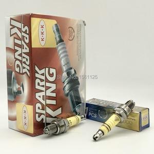 Image 3 - 1PC SUPER 3 pcs eletrodos de Competência Da Motocicleta Spark Plug Para GY6 A7TJC CR7HIX CR7HSA C7HSA A7RTC A7TC UF22 CR6HSA C5HSA C6HSA
