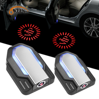Wireless Car Door Welcome light LED Laser Projector Logo Ghost Shadow Light for VW Ford BMW Toyota Honda Courtesy Lamp