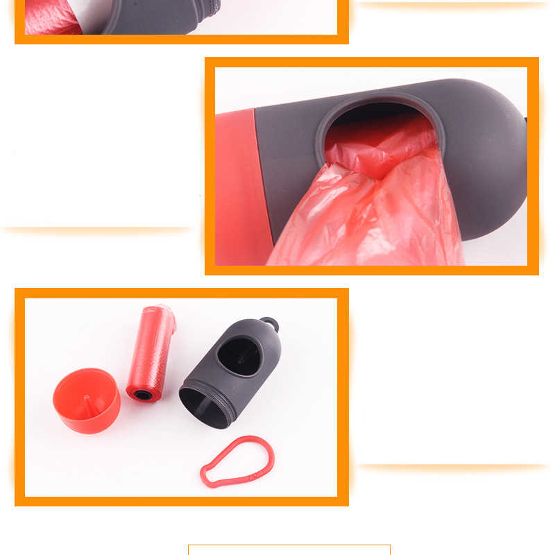 1Pcs פלסטיק לחיות מחמד כלב קקי תיק Dispenser פסולת אשפה מחזיק מכשירי קקי שקיות סט חיות מחמד כלבים אשפה חומרי ניקוי