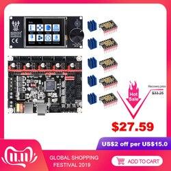 Bigtreetech skr v1.3 placa de impressora 3d + tft24 tela sensível ao toque tmc2209 tmc2208 uart tmc2130 para ender 3/5 mks gen l peças de impressora 3d