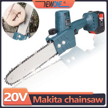 Compatible with 18V Makita battery cordless chainsaw rechargeable battery brushless motor portable garden pruning woodwork tool