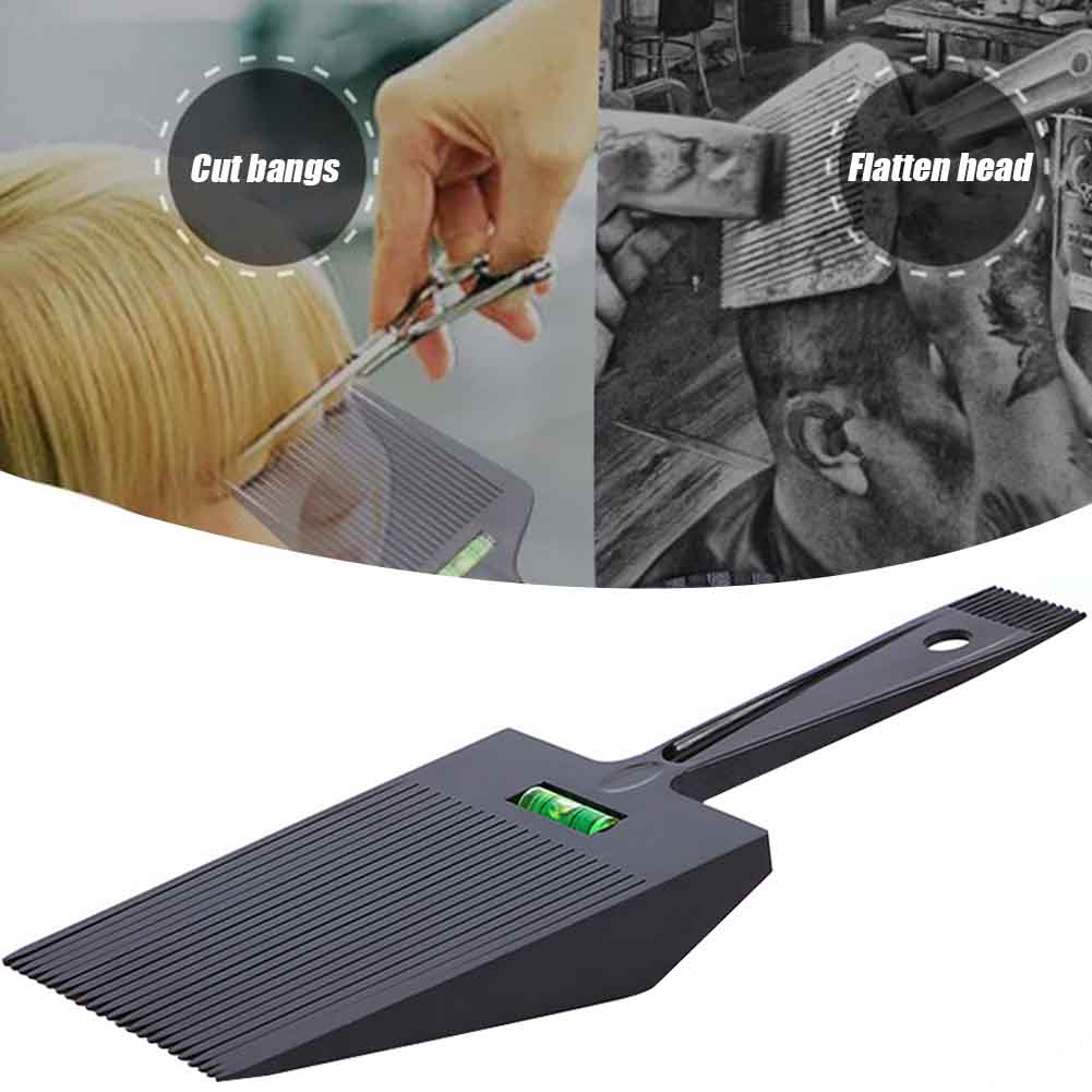 Hairdressing Water Leveling Wide Salon Barber Dual Ended Hair Comb Flat Top Anti Slide Cutting Guide Styling Tools Oil Head
