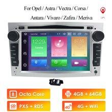 """7 """"Android10.0 4G + 64G Auto Dvd Voor Opel Astra H Van 2004 & Opel Combo Van 2004 & Opel Corsa C 2004 2006 & Opel Corsa D Van 2006"""