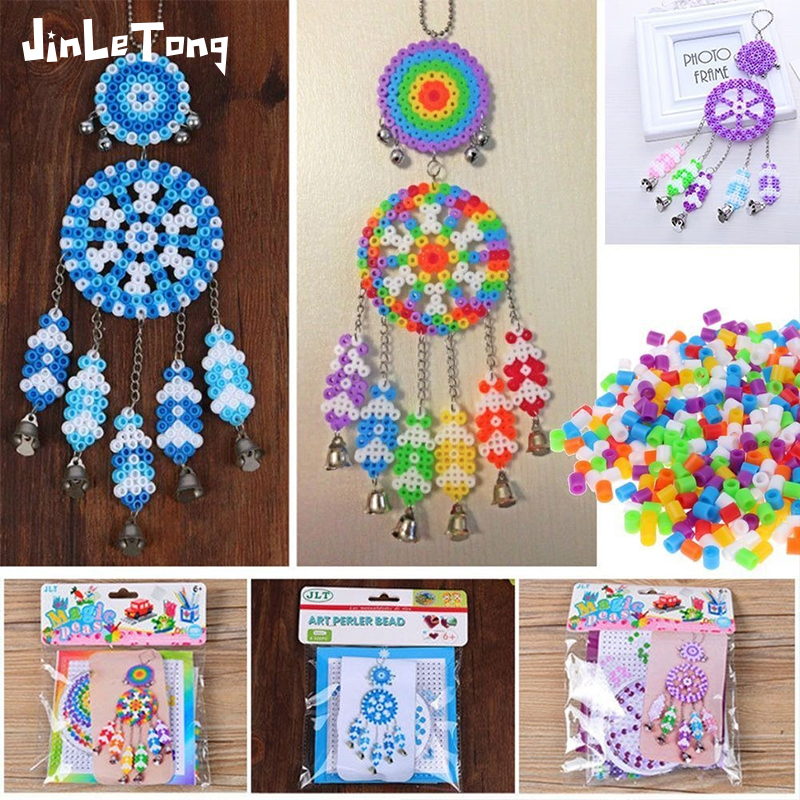 5mm  Wind Chime Card Set Hama Beads For Kids Iron Fuse Beads Diy Puzzles High Quality Gift Children Toy Model Building Kit