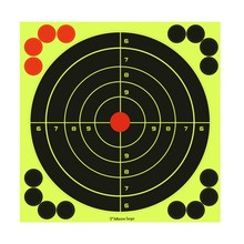 Outdoor Sport Shooting Tool Fluorescent Adhesive Target Paper Target Exercise Hunting Shooting Training Accessories With Patches цена