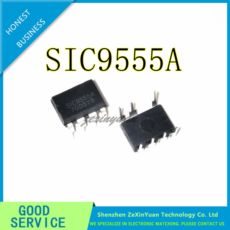 10PCS/LOT SIC9555A SIC9555 DIP-7