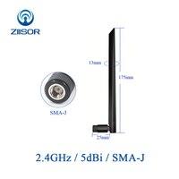 sma נקבה Wifi אנטנה נתב 2.4GHz מודם אנטנה SMA זכר נקבה 2400M אומני גבוהה רווח WLAN אוויר TX2400-JKD-20 (2)