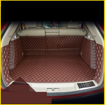lsrtw2017 for cadillac srx leather car trunk mat cargo liner for 2010 2011 2012 2013 2014 2015 2016 accessories rug carpet