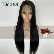 Lace Front Human Hair Wigs Straight Pre Plucked Hairline Baby Hair 8-26 Inch 13x4 150% Malaysian Remy Human Hair Lace Front Wigs(China)