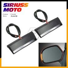 Светодиодный чехол для мотоцикла с зеркалом заднего вида и поворотным сигналом для Honda GOLDWING GL1800 GL 1800 подушка безопасности; abs Premium Audio 2001