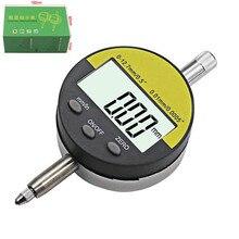 """0-12,7 мм/"""" измеритель диапазона цифровой циферблат индикатор прецизионный инструмент 0,01 мм/0,0005"""" тестер инструменты"""