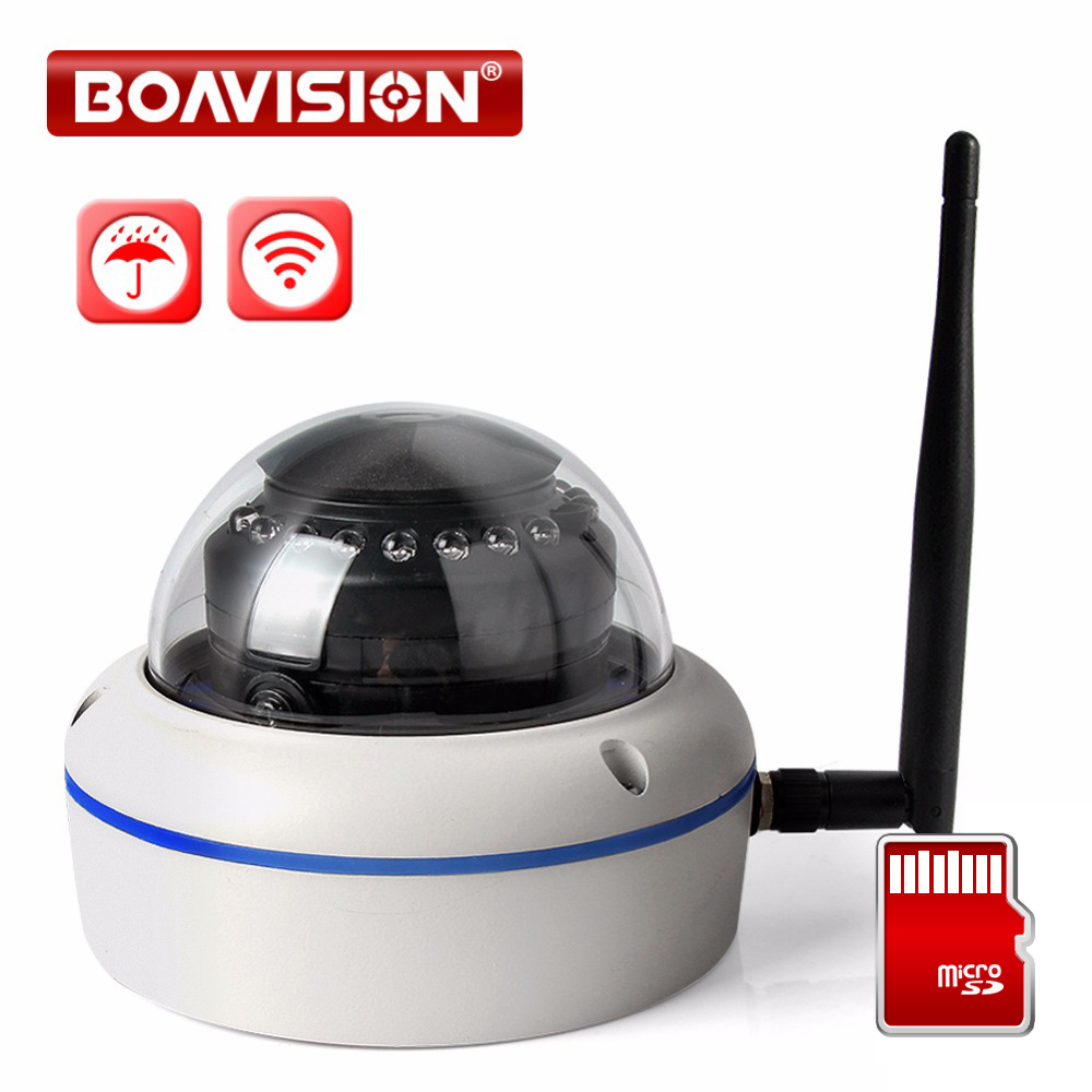 1080P WIFI IP Camera Wireless Dome Outdoor Onvif TF Card Slot 720P 2MP CCTV Wi-Fi Security Camera Night Vision 10m APP CamHi