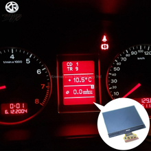 Wyświetlacz LCD do Audi A4 B6 B7 przyrząd do pomiaru prędkościomierza FIS MFA krótki kabel