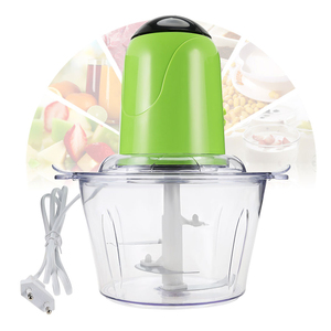 2L Electric Kitchen Chopper Meat Grinder Shredder Food Chopper Stainless Steel Electric Household Processor Kitchen Tool Cocina(China)