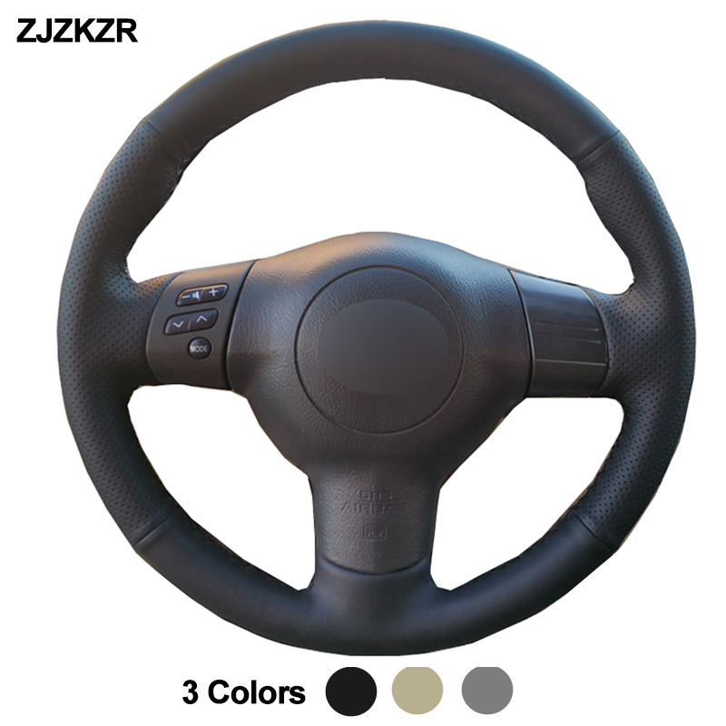 Car Auto Steering Wheel Cover For Toyota Corolla 2004   2006 Caldina 2002   2007 RAV4 (US) 2004   2005 Scion tC 2005 2010 Volant|Steering Covers|Automobiles & Motorcycles - title=