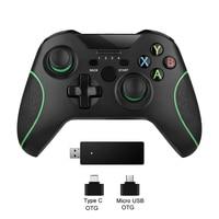 Nuovo Controller Wireless 2.4G per Xbox One Console per PC Android Joypad Smartphone Gamepad Joystick One Controle Console Video