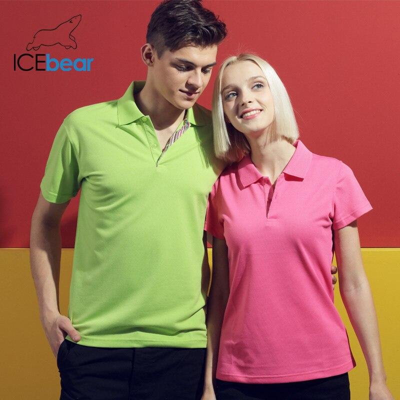 Icebear 2020 Summer New Cotton T-shirt Women's T-shirt High Quality Short Sleeve Fashion Women's Clothing 016