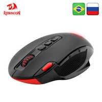 Redragon SHARK M688 Wireless Gaming Maus programmierbare 5000 DPI 10 tasten ergonomische für overwatch gamer Mäuse laptop PC computer