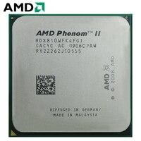 AMD Phenom II X4 810 HDX810WFK4FGI Quad Core AM3 938 CPU 100% working properly Desktop Processor 2.4GHz 95W Socket AM3