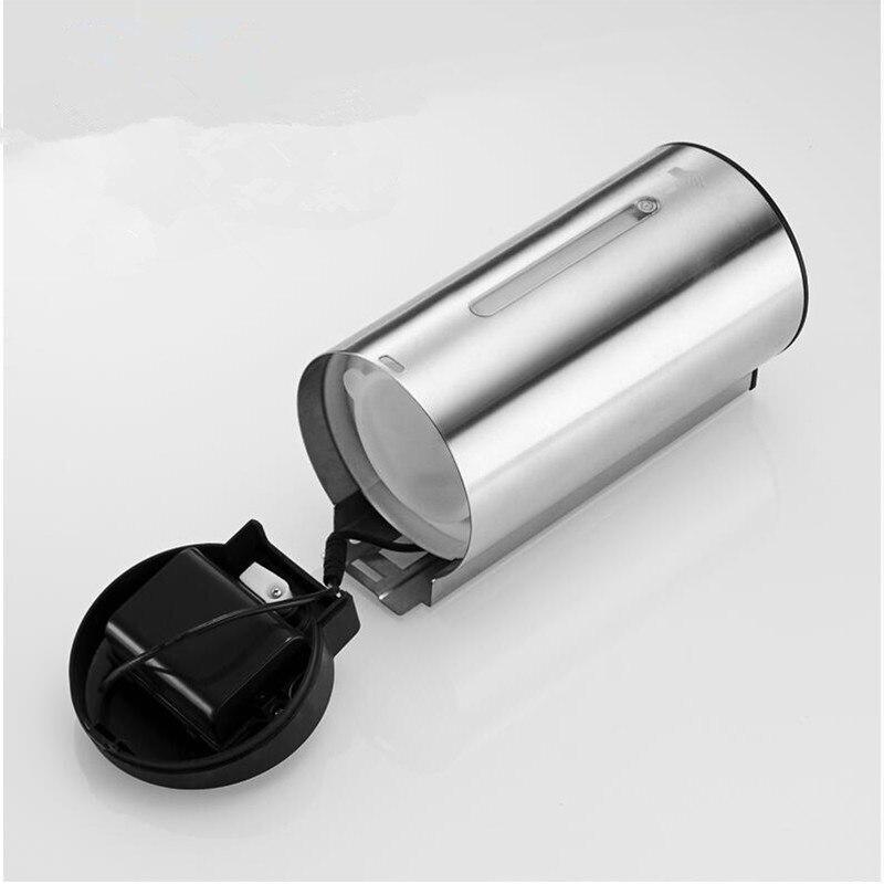 Badkamer 304 SS Materiaal automatische sensor Zeepdispenser Vloeibare Douche Shampoo dispensoer Wandmontage hotel producten - 6