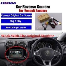 Auto Reverse Rückansicht Kamera Für Renault Sandero Stepway 2007 2020 AUTO Parkplatz Back Up CAM HD CCD Fahrzeug zubehör