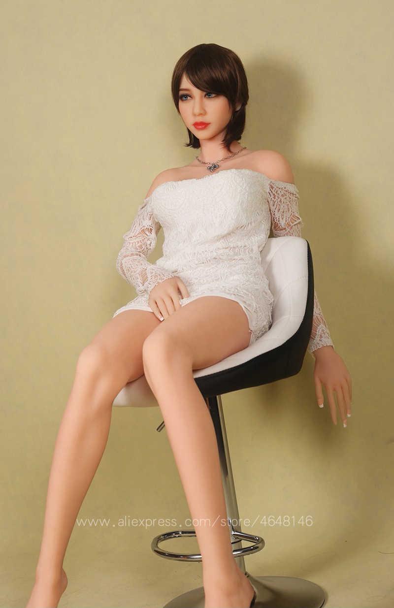 158 см высокое качество силиконовые секс куклы с металлическим скелетом, полный размер куклы любви, японская кукла для секса влагалища сексуальные куклы для мужчин