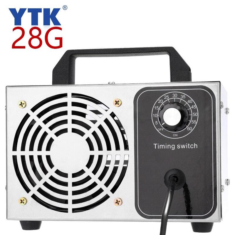 28G generador de ozono purificador doméstico purificador de aire esterilización tratamiento eliminación de ozono formaldehído 220V Eruntop 8586D + soldadores eléctricos de doble pantalla Digital + pistola de aire caliente mejor estación de reparación SMD mejorada 8586 8786 8786D