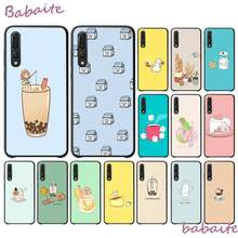 Babaite Cute Cartoon food milk tea strawberry cake Phone Case Cover for Huawei VIEW20 HONOR 5A 10I 20IPLAY 8C 9X PRO Y9 2018(China)